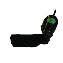 Schutzarm aus Velourleder, weich mit Luftpolster