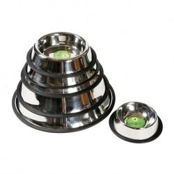 Anti-slip stainless steel bowls