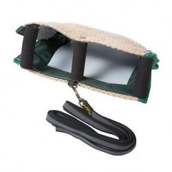 Hetzhalsbänder, sehr weich mit Softleder, genäht