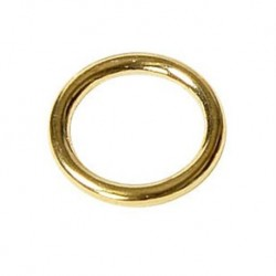 Ringe, Vollmessing 23 mm