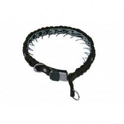 Geflochtene Leder Stachel-Halsbänder
