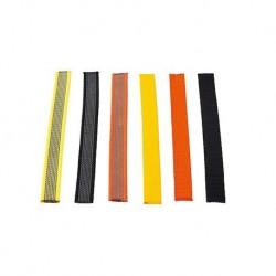 Stachelhalsband mit Textilüberzug 3,8mm 50-55cm