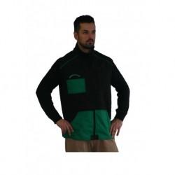 Trainingsweste schwarz-grün